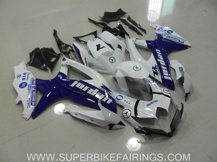 2008-2010 GSXR-600 750 Blue Jordan Fairings