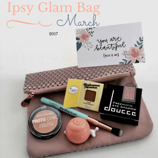 Ipsy Glam Bag March 2017