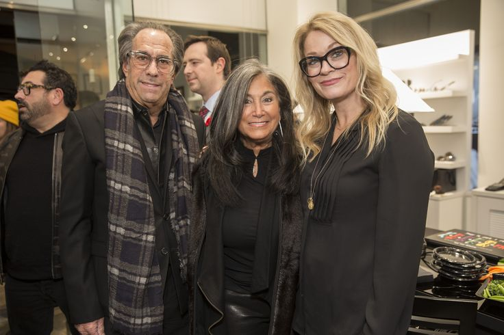 Richard & Shelley Golden (CEO's) and Susan Berryman (VP, Marketing) at our Yorkville, Toronto Grand Opening.