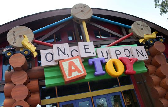 Once Upon A Toy in Downtown Disney Marketplace at Walt Disney World Resort