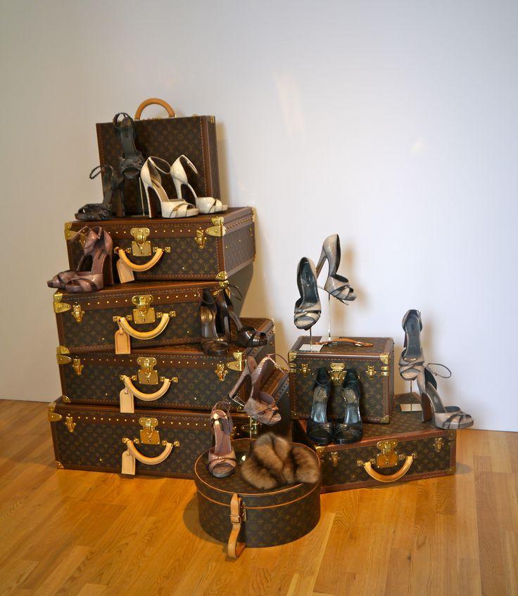 Louis Vuitton shoes & trunks
