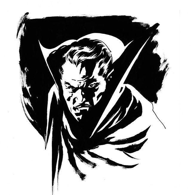 Happy (belated) 168th Birthday to Bram Stoker, author of the classic vampire novel, Dracula (1897)!