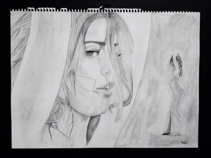 Traiana Anania.pencil on paper