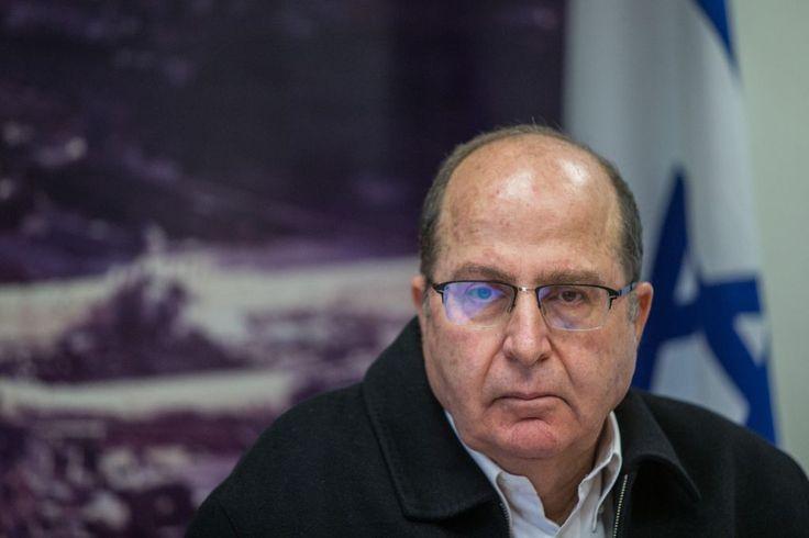 Defense Minister Moshe Ya'alon - I would prefer Isis in Syria. At a press conference in Jerusalem, November 18, 2015 (Yonatan Sindel/Flash90)
