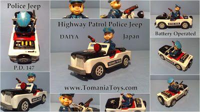 Daiya Highway Patrol Police Jeep