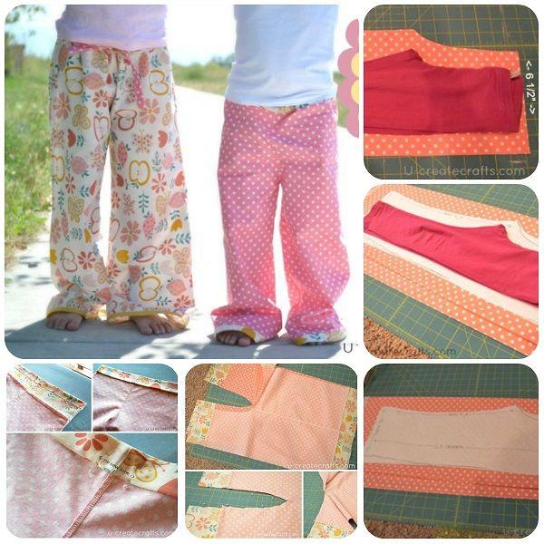 Bien-aimé Oltre 25 idee originali per Cucire pantaloni su Pinterest  VH15