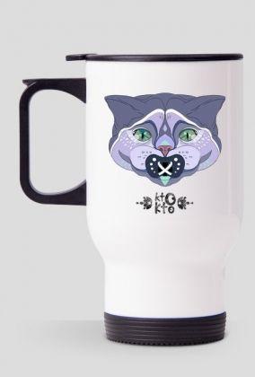 print on mug,cat ,blue british