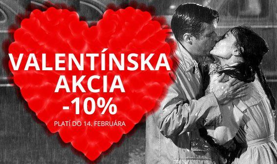 Valentínska akcia - 10% Tipy na darčeky pre ženu http://www.1010.sk/tag/tipy-valentin-ona/ Tipy na darčeky pre muža http://www.1010.sk/tag/tipy-valentin-on/