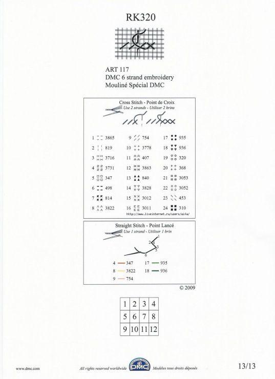 wieniec z róż 5/13 - kolory