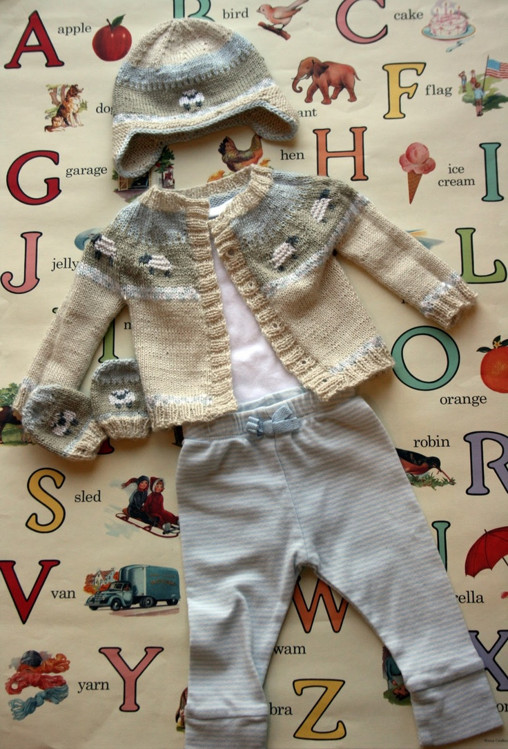 89 best sheep pattern images on pinterest amigurumi patterns french press knits from pattern sheep yoke baby cardigan by jennifer little on ravelry bankloansurffo Images