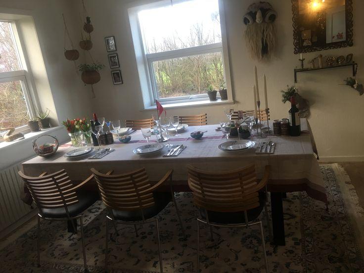 Julefrokost/fødselsdagsbordet er klar😊 Til inspiration😊