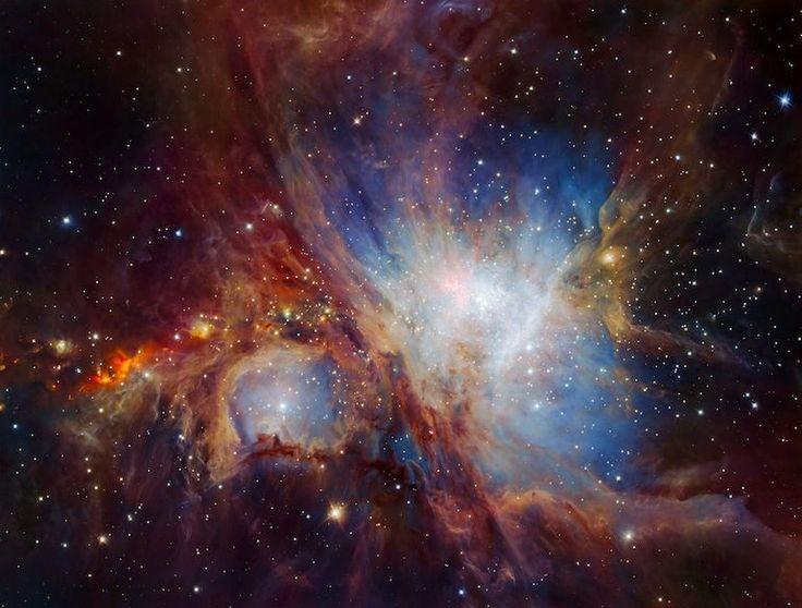 Wielka Mgławica Oriona z bardzo, bardzo bliska… | Wiedzoholik
