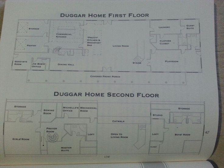 Four Bedroom Floor House Plan