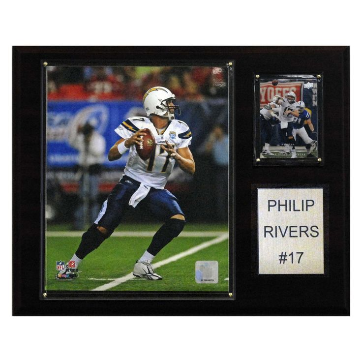 NFL 12 x 15 in. Philip Rivers San Diego Chargers Player Plaque - 1215PRIVERS