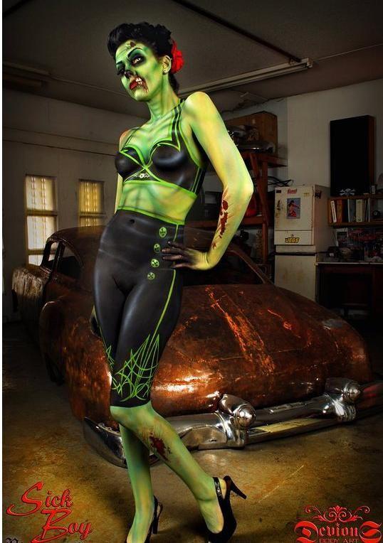 Body Art/ Now that'z hella cool...