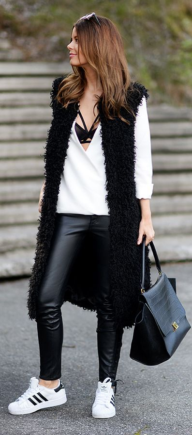 Black And White Spring Style by Annette Haga