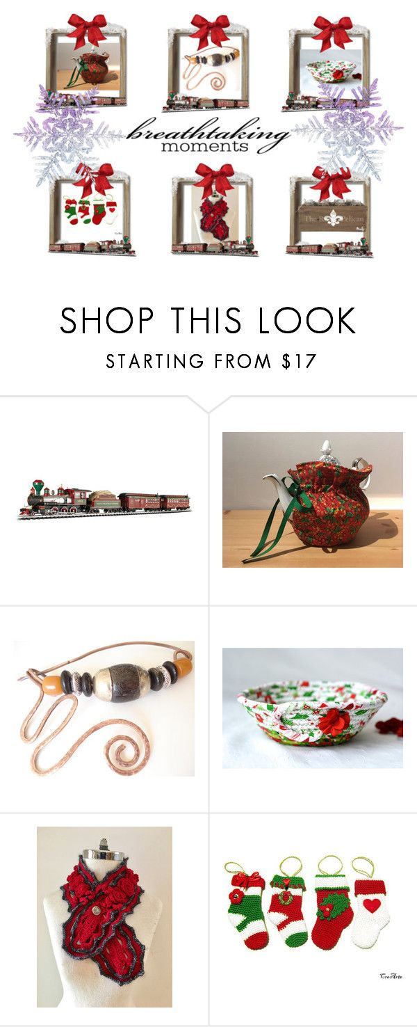 Breathtaking Moments by cozeequilts on Polyvore featuring Bachmann and rustic
