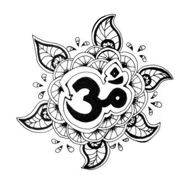 Tatouage Ohm dans soleil