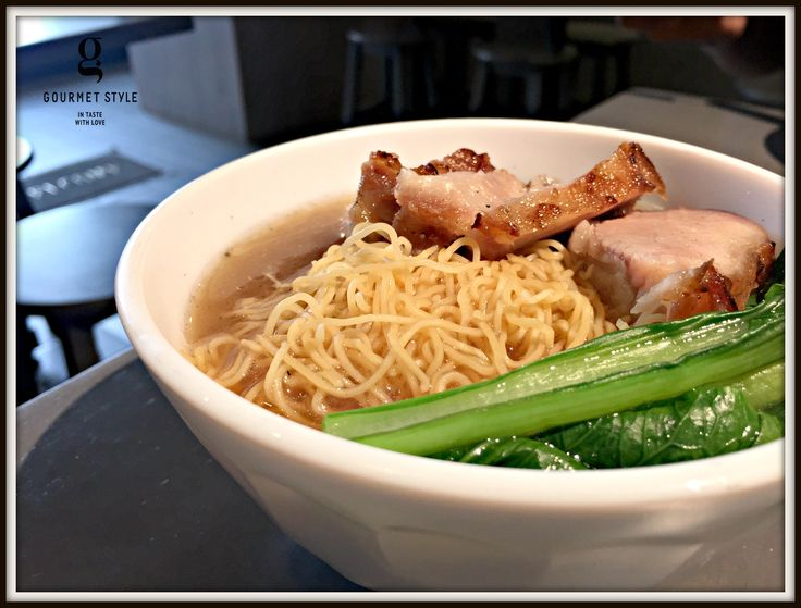 Gokfayuen is an authentic Hong Kong-styled noodle shop in Thonglor Soi 9. Homemade noodle...delicious! You will probably think of the old days of Hong Kong