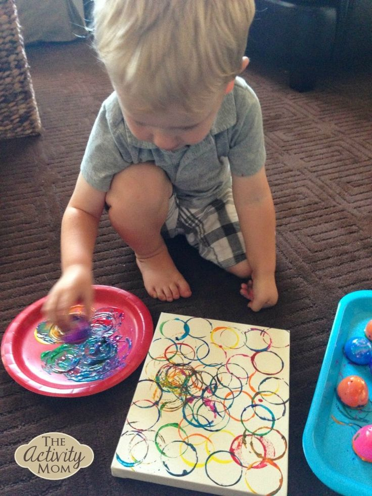 toddler painting the activity mom - Toddler Painting Games