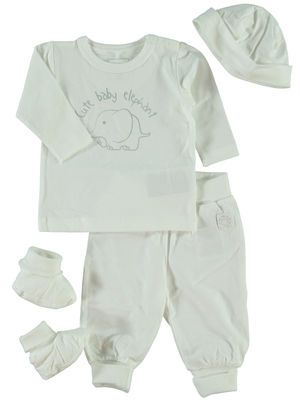 NEWBORN NITUBBE GIFT SET, Bright White