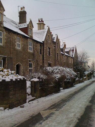 Snowy Old Town, December 2010, Swindon.