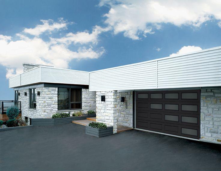 30 best before after exterior renovations images on for Modern garage