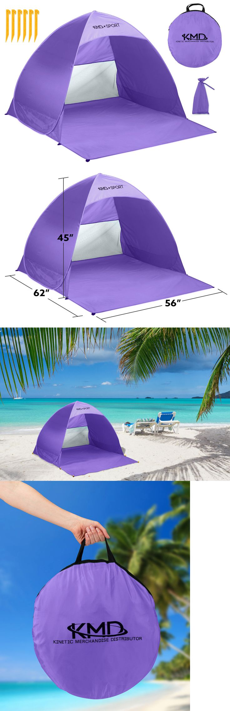 Canopies and Shelters 179011: Beach Pop Up Portable Canopy Sun Shade Privacy Shelter Outdoor Camping Tent Mesh -> BUY IT NOW ONLY: $32.99 on eBay!