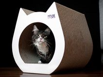Kratzbaum Cat White - House of Cats