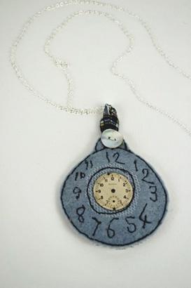 Emily Notman - Pocketwatch Necklace http://www.emilynotman.co.uk/