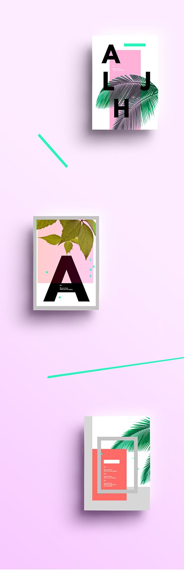 Graphic Design Inspiration . Alpha on Behance #printspiration