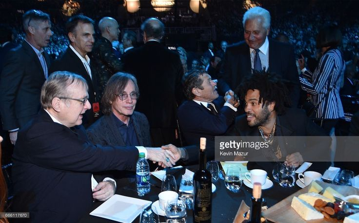 Jackson Browne, Jann Wenner and Lenny Kravitz attend 32nd Annual Rock