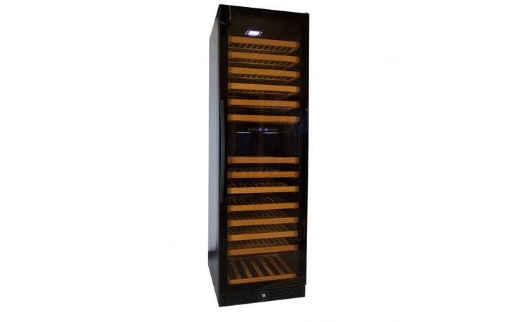Wijnklimaatkast Premium met vol glazen deur - 177 Flessen kopen?
