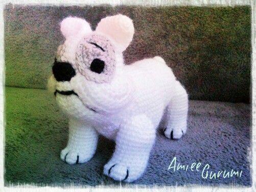 Horgolt francia bulldog / Crochet French Bulldog