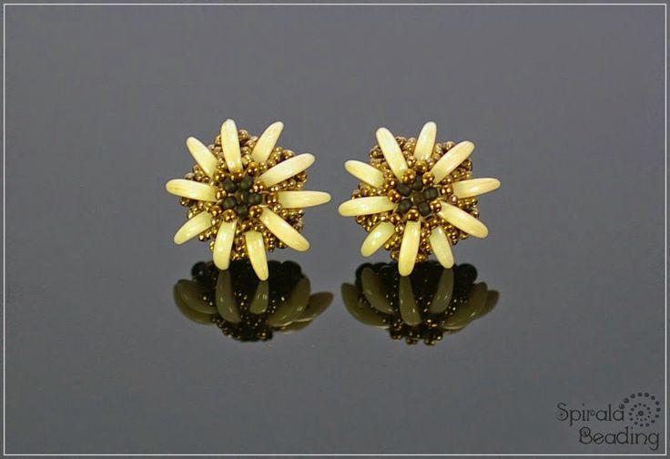 ciubuc spirală: proteze ureche - cercei Edelweiss post