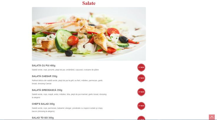 Menu pages http://ventcafe.ro/meniu