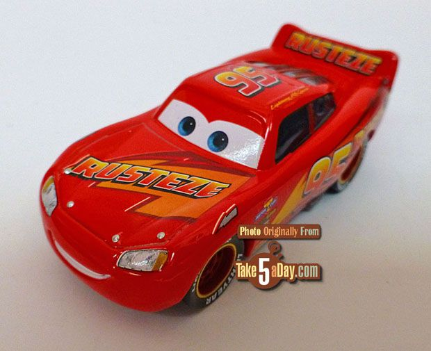 Mattel Disney Pixar Cars 3 Rust Eze Lightning Is Sharp Cumpleanos