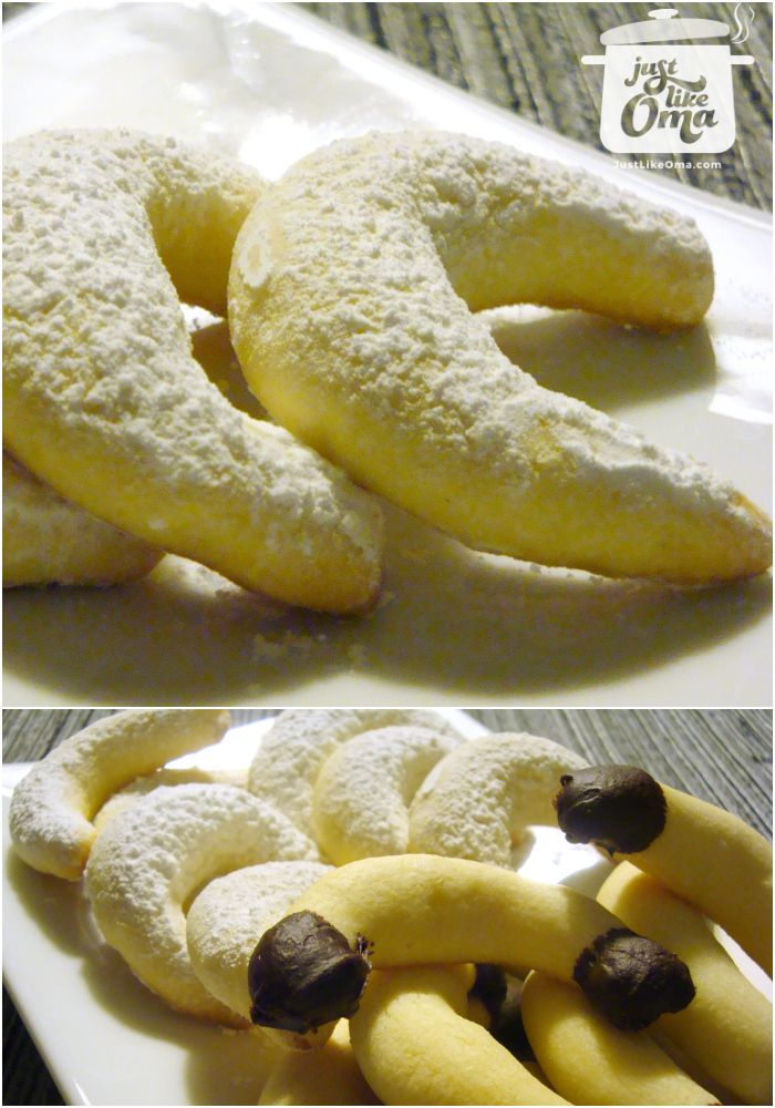This German Almond Cookie is the traditional vanillekipfel that we love at Christmas. Share it! Pin it! Make it! Enjoy it! http://www.quick-german-recipes.com/almond-cookie-recipe.html