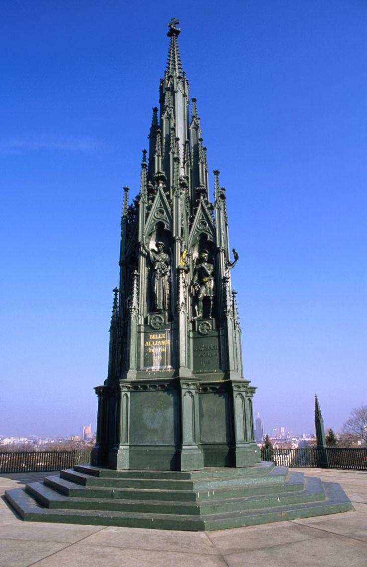 Kreuzberg Memorial on top of Viktoria Park, Kreuzberg, Berlin, Germany