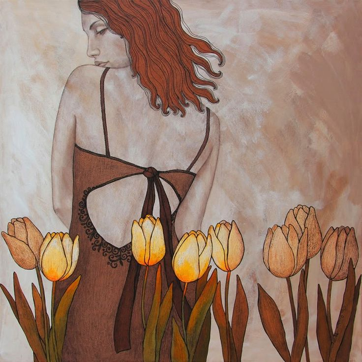 A menudo caminando mano a mano con la controversia es la forma sensual femenino, nacido en Rusia, Bélgica basada - artista Olga Gouskova sin duda sabe cómo captar un público con sus pinturas de mujeres hermosas y elegantes.  Desde el año 2002 vive en Brujas y trabaja como diseñador gráfico.