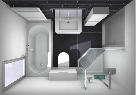 kleine badkamer indelen. Ruimte is 1.80x2.50m slim handoekradiator ...