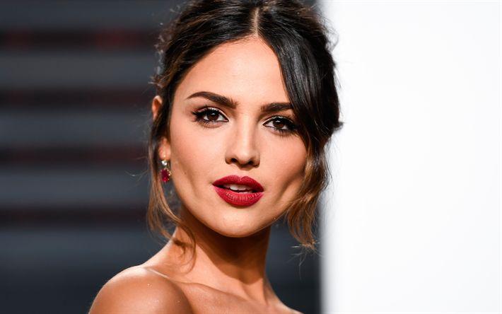 Descargar fondos de pantalla Eiza González, 2017, actriz mexicana, retrato, belleza, morena