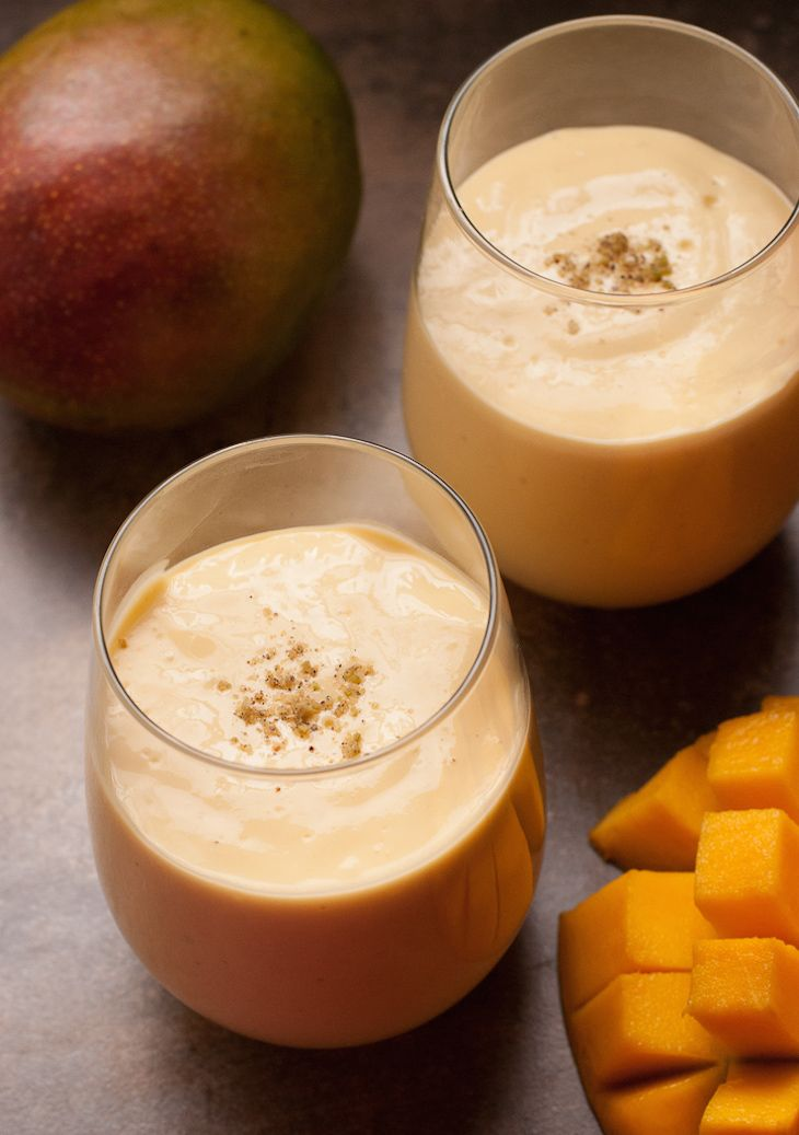 Lassi is a typical Indian drink, made with different fruits and fermented yogurt. It has healthy bacteria, and probiotics that are two key contributors to weight loss. You only need to blend Greek yogurt, frozen mango chunks, and honey together and you can enjoy this refreshing healthy morning drink.