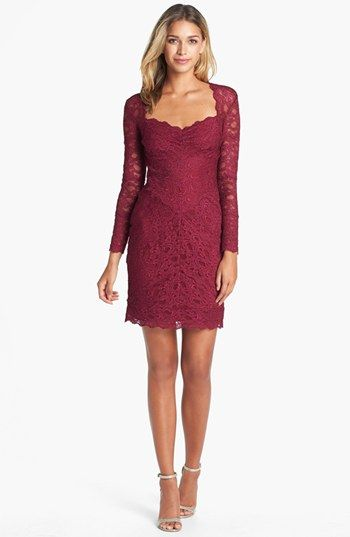 Best 25 lace sheath dress ideas on pinterest pencil for Nicole miller wedding dresses nordstrom
