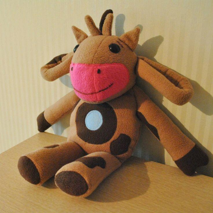 Мягкая игрушка коровка из мультика Тони Лав
