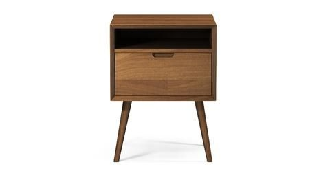 Ethan Square Side Table - Walnut