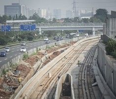 KAI Receives $1.35b Shot in the Arm for LRT Project | Jakarta Globe