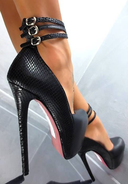 190 Best High Heels Mania Images On Pinterest  Spiked -6945