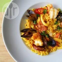 Klassische Paella @ de.allrecipes.com