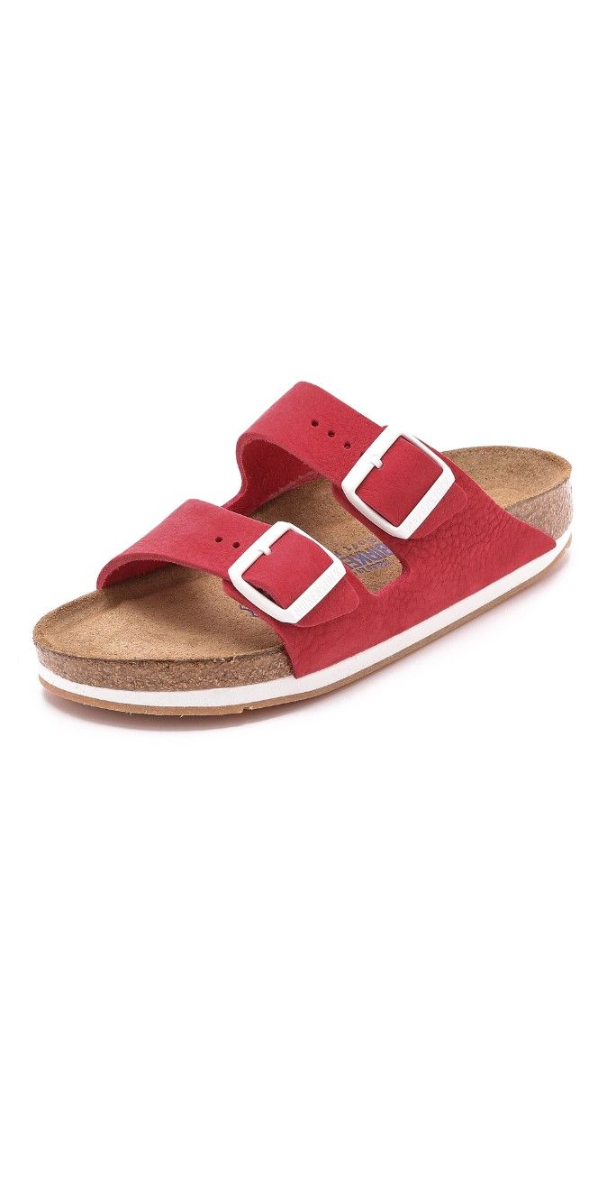 Who can resist red Birkenstocks ??